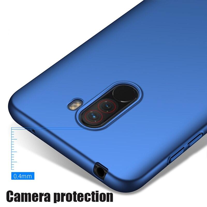 For-Xiaomi-Pocophone-F1-Case-Hard-Matte-Back-Cover-Pocofone-Poco-F1-Slim-Shockproof-Skin-Single (3)