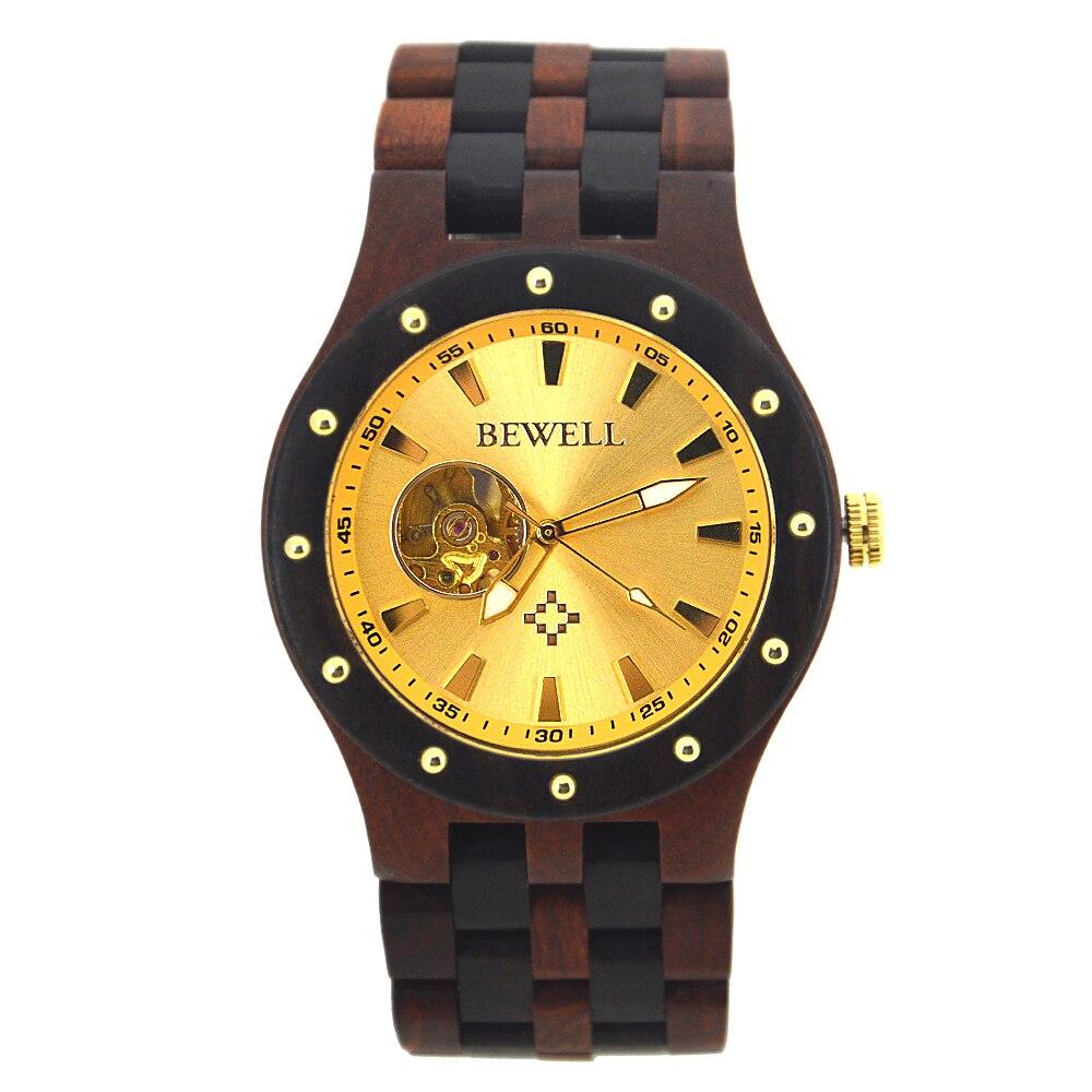 BEWELL Casual Top Luxury Brand Men Relojes Mecánicos Reloj de - Relojes para hombres - foto 2