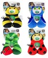 Cartoon Baby Pillow For Children Headrest For Car Seat Head Support Cushion Decor Travel Pillow Kid Car Sleep For 1-4 Years Old