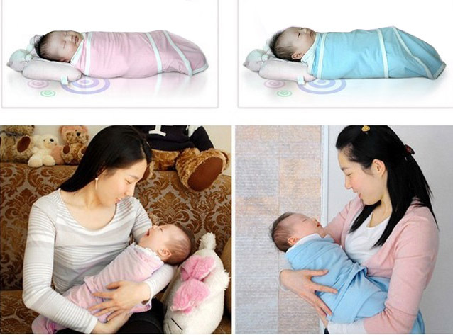swaddleme Baby wipes swaddling bag Baby sleeping bags Pure cotton cocoon type clothes0-6M Style much