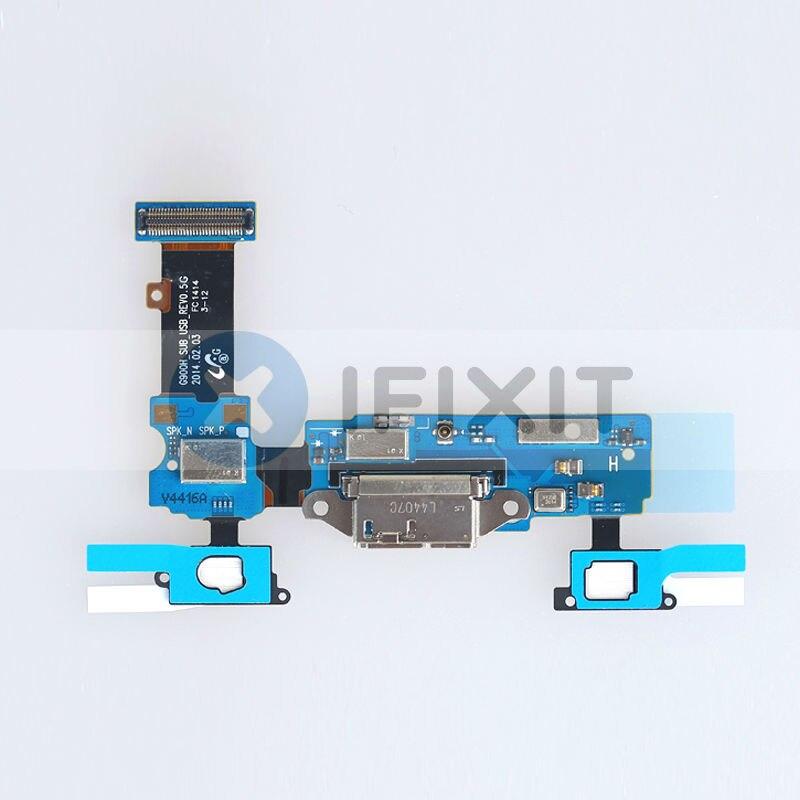 Für Samsung Galaxy S5 G900F G900H G900V Usb-ladebüchse Dock + Home ...