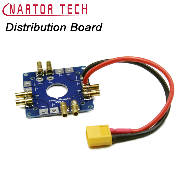 MultiCopter Multi-Tri Copter Power Battery ESC Connection Bo