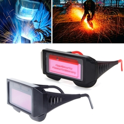 1 Pc Novo Pro Auto Escurecimento Solar Máscara de Solda Capacete Óculos Óculos Óculos de Proteção Óculos de Soldador