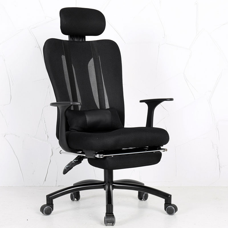 Computer Chair Home Office Chair Fashion Reclining Ergonomic Armchair Comfortable Breathable Mesh Lacework Silla