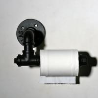 Vidric Creative toilet paper towel holder frame retro/oil bubbed bronze,black toilet roll holder paper holder Toilet accessories