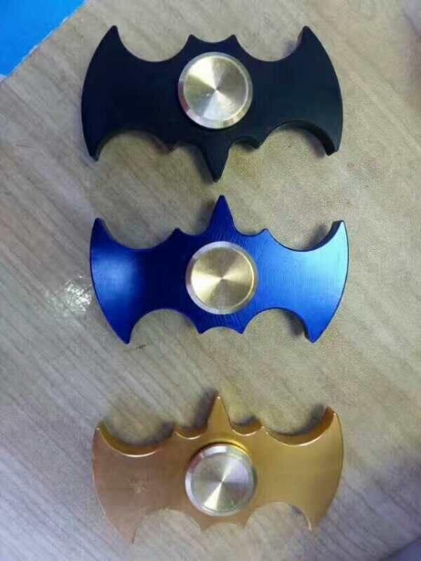 20pc Fidget Hand Spinner EDC Batman Vorm Lager Speelgoed Hand Vinger Spinner Aluminum Alloy Stress Austism