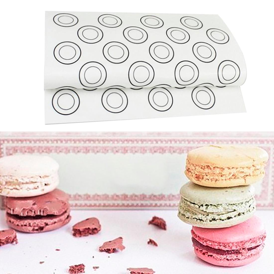 1Pc 40X30cm Silicone Baking Mat Fondant Bakeware Macaron Oven Baking pastry tools Cake Pad Dough Roll Mats Pad