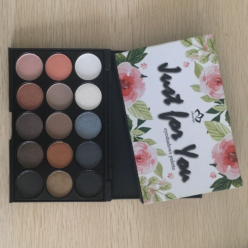 12-color Aurelife New matte & shimmer heateye sombra terra cor maquiagem duradoura maquiagem da Paleta da sombra Matte Shimmer shado Olho