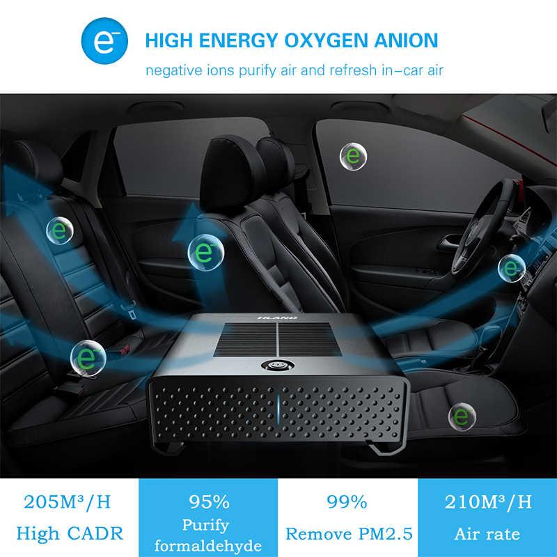 09114a095 ... Car Air Purifier Freshener Portable USB Cleaner Auto Fresh Air Anion  Ionic Purifier Oxygen Bar Ozone ...