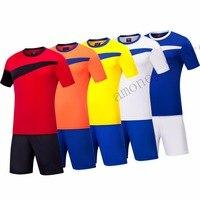 Adsmoney Football Jerseys Diy Set High Quality Soccer Club Kits Uniforms Men Football Maillot Training Jersey