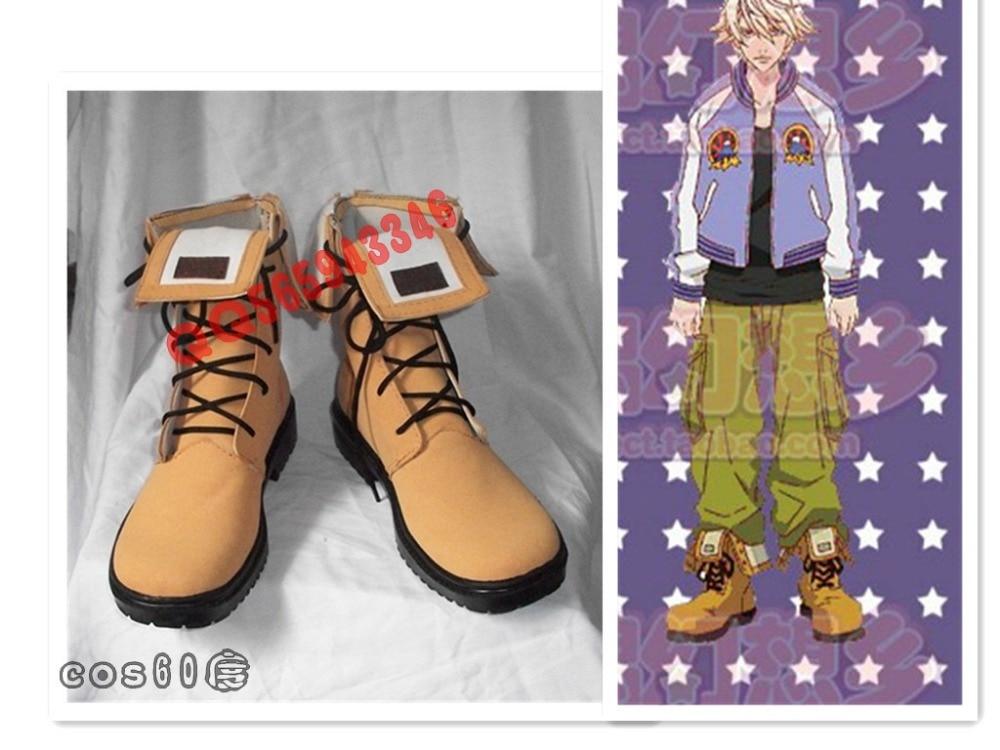 Tiger & Bunny Ivan Karelin Cosplay Shoes Boots S008