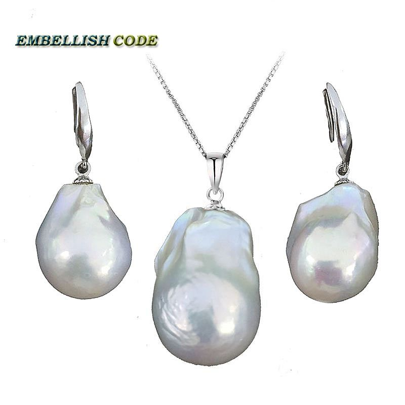 baroque pearl sets hook earrings and pendant plus size 100% natural freshwater Cultured pearls all 925 Sterling Customized 1 24 4wd high speed rc racing car bg1510 rc climber crawler electric drift car remote control cars buggy off road racing model