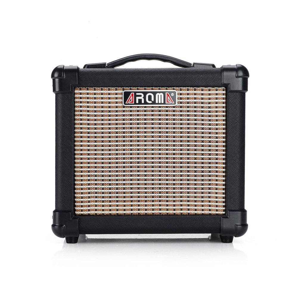 10w black guitar amplifier speaker box handy portable acoustic electric guitar amp sound for. Black Bedroom Furniture Sets. Home Design Ideas