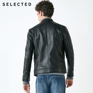 Image 3 - Chaqueta de cuero de cuello alto seleccionada para hombre chaqueta de PU con cremallera S