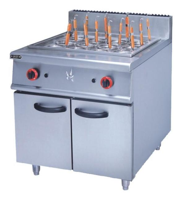 Commercial Super Quality Stainless Steel Eletric Pasta Cooker With Cabinet  Kitchen Pasta Cooking Equipment