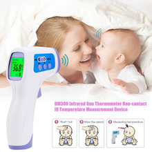 2016 Muti-fuction Baby/Adult Digital Termomete Infrared Forehead Body Thermometer Gun Non-contact Temperature Measurement Device