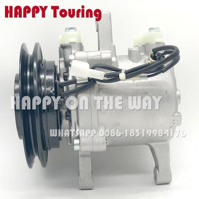 US $96 92 11% OFF|SVO7E AC Compressor for Kubota Compressor Kubota M108S  M5040 M7040 M8540 Tractor SV07E 3C581 97590 447260 5781 3C581 50060-in