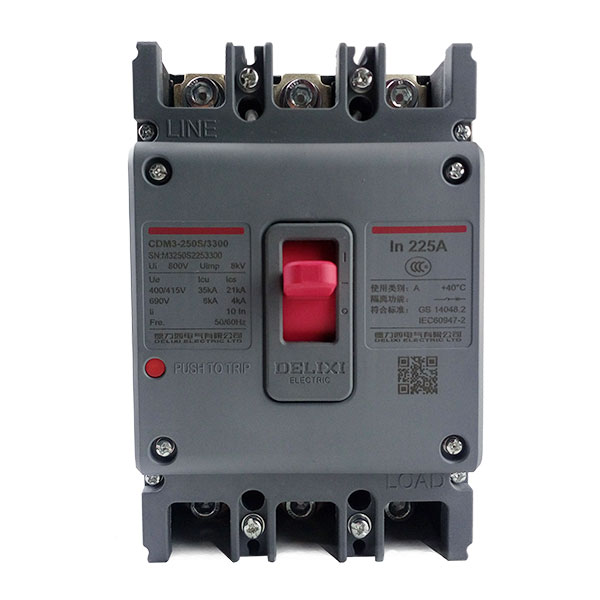 DELIXI CDM3 225A Air switch, circuit breaker