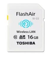 TOSHIBA Flash Air W 03 16GB 32GB SD Card Class 10 Wireless SDHC Tarjeta Memory Card Wifi SD Carte Memoria Card for Camera