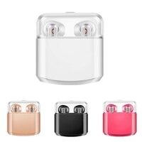 Bluetooth Earphone Phone Sport Headset In Ear Buds I7 Wireless Mini Earphones Stereo