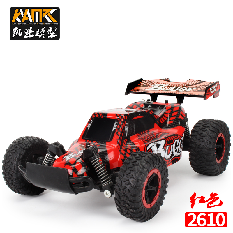 RC Car 20km/h 2.4G 4CH 2WD 1/16 Rock Crawler Driving Cars Drive Bigfoot Car Remote Control Car Model OffRoad Vehicle Toy drift image