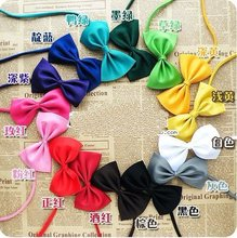 2015 Cute Pet collar dog  cat bowknot tie  pet supplies dog accessories 50pcs/lot  Free Shipping