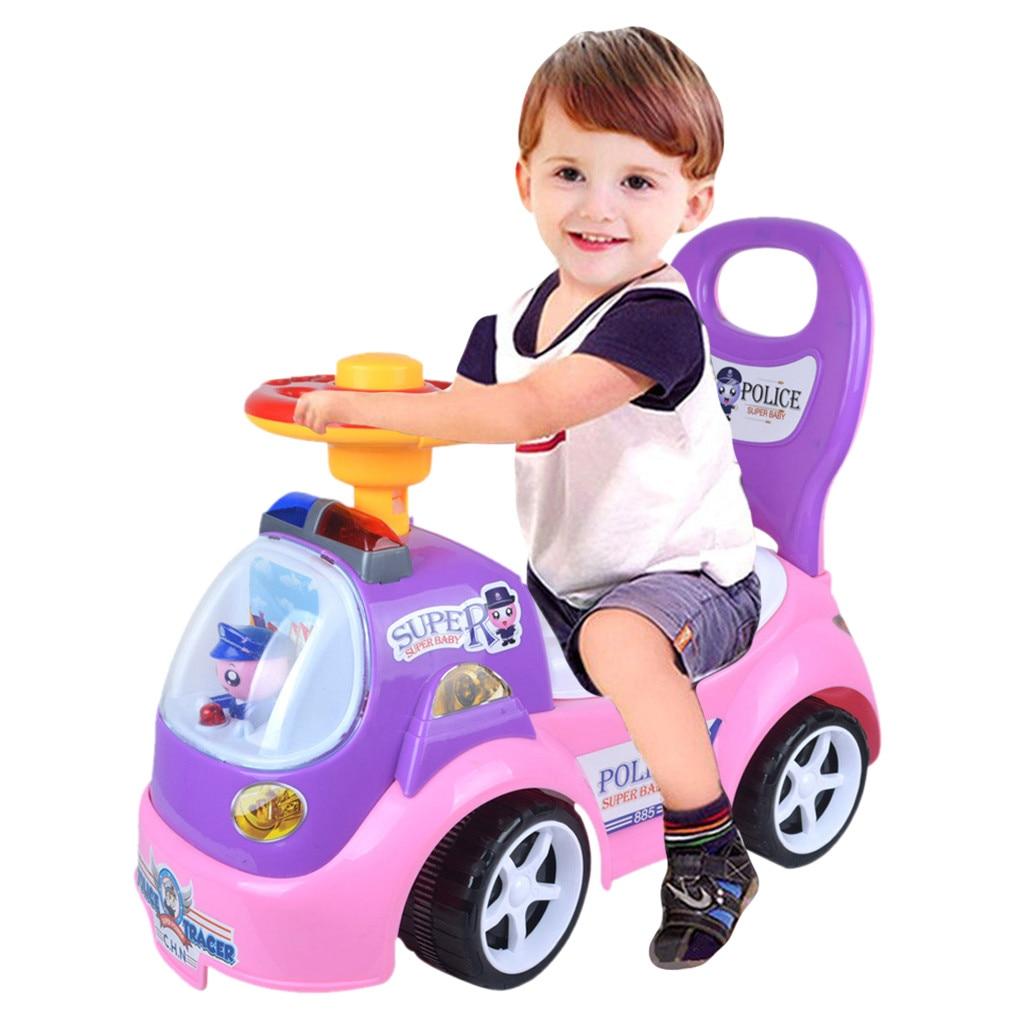 Monter sur jouet enfants voiture pousser le long des enfants vélo bambin marcheur bébé Balance jouets éducation éducative développer l'exercice
