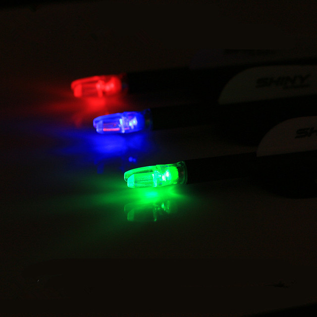 3pcs pack lighted arrow nock led lighted with screwdriver arrow nock