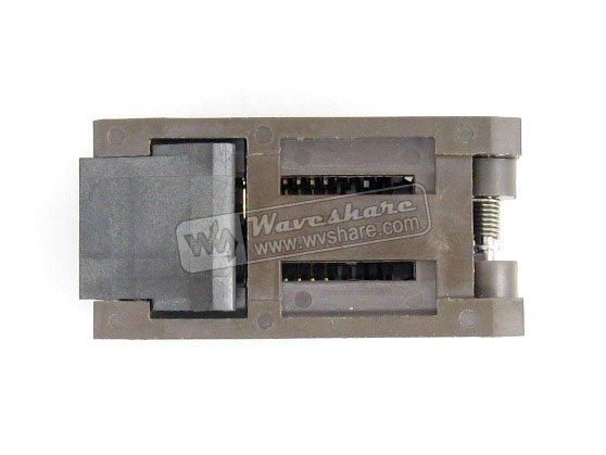 SOP20 SO20 SOIC20 FP-20(28H)-1.27-07 Enplas IC Test Burn-In Socket Programming Adapter 7.9mm Width 1.27mm Pitch