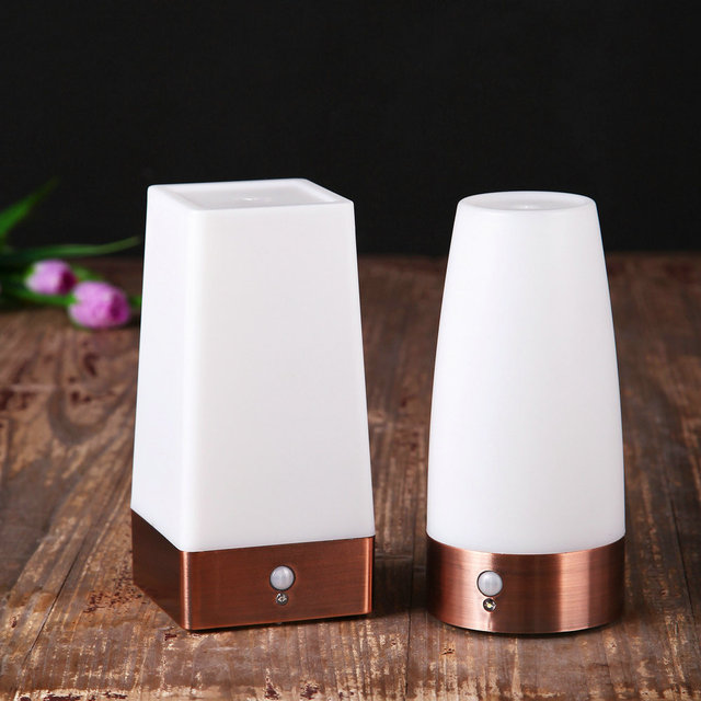 Motion 20Off Night Table Bar Bedroom hotel Home Sensor Wireless 49 Light Coffee Battery In Us8 Lamp Activity Shop Auto Control Led kXO8wn0P