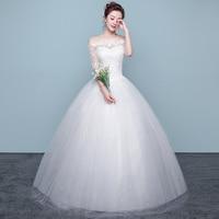 Wedding Dress Bride Princess Dream Wedding Dresses Lace Up Dresses