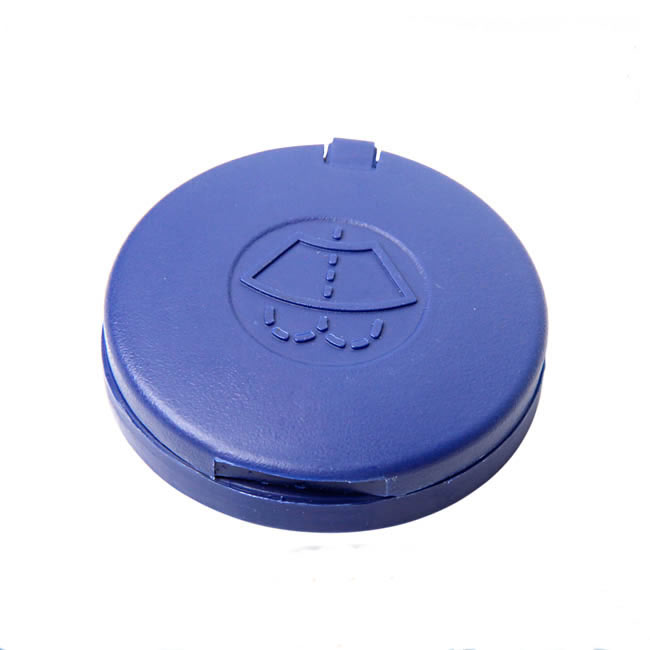 Blue Car Windshield Washer Bottle Cap Cover For Peugeot 301 307 308 408 508 /Citroen Sega Triumph C4L C5 C2