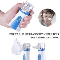 Asthma Inhaler Mini Atomizer For children Adult Inhale Ultrasonic Nebulizer Spray Set Baby Healthcare Home Medical Ultrasonic