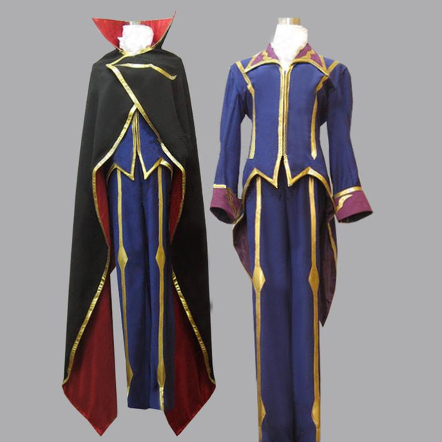 Code Geass Zero Lelouch Cosplay Costume & Code Geass Zero Lelouch Cosplay Costume-in Anime Costumes from ...