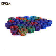NEW XFKM 810 Drip Tips Epoxy Resin Drip Tip Wide Bore Mouthpiece for Kennedy24 Battle Goon 528-B RDA Atomizers 1pcs Retail