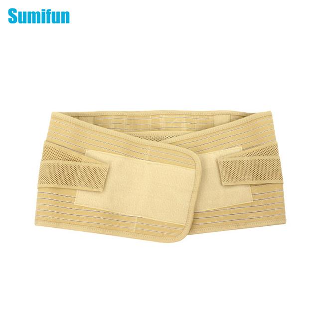 1 Unids Sumifun Nuevo Estilo AdjustableTherapy Dolor de Espalda Lumbar Cinturón Ayuda de la Cintura Lumbar C623