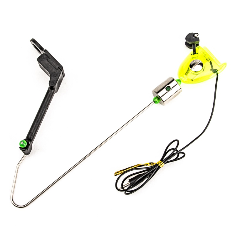 Portable Fishing Alarm ABS Bite Alarm Iron Adjustable Clip Fishing Swinger Bite Indicator Alert Supplies Outdoor Fishing Tools