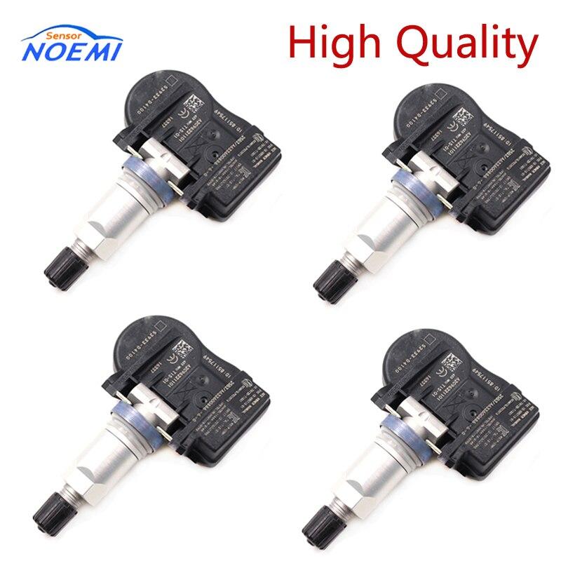 4 pièces 52933-D4100 433MHZ TPMS capteur capteur de pression des pneus pour Hyundai Kia NIRO Optima Sportage Sorento 52933D4100 52933-F2000