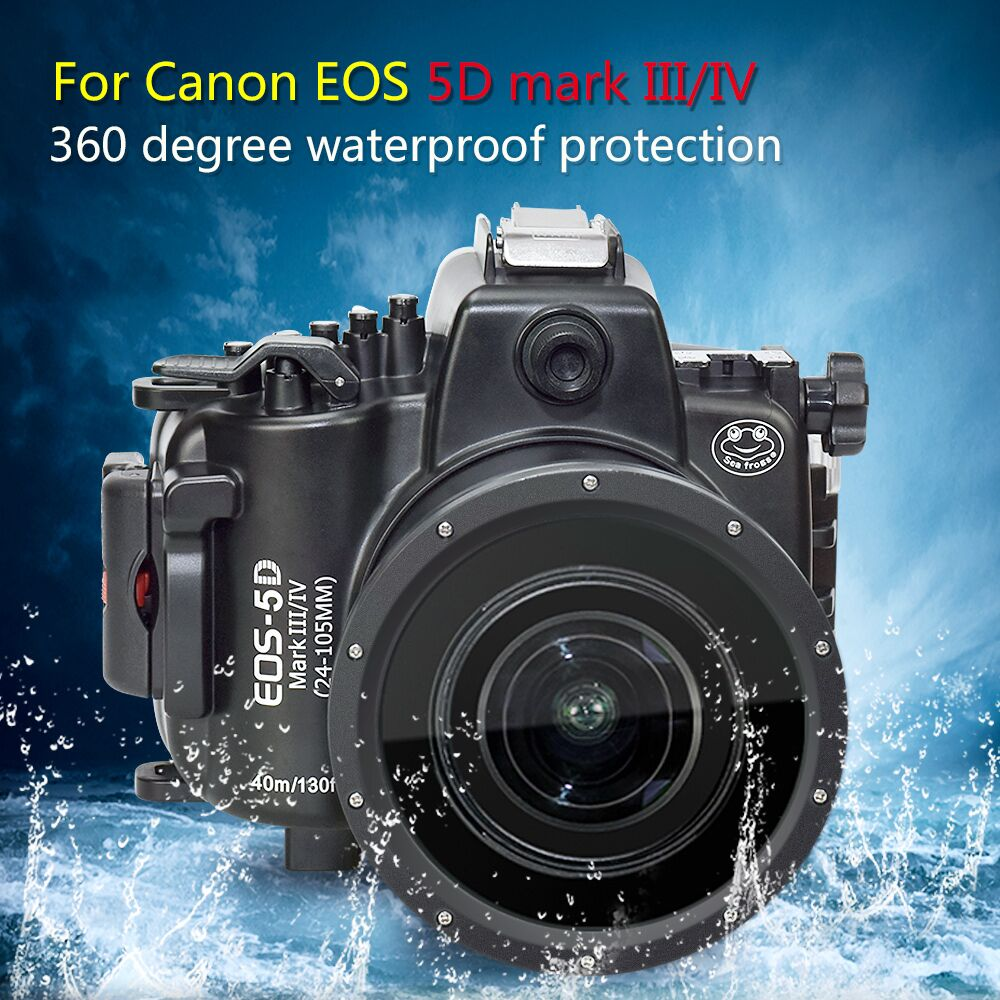 Case Bag Housing Diving-Camera Mark-Iii Seafrogs Waterproof 24-70mm Canon 5d for Iv-24-105mm-lens/Or/24-70mm/.. title=