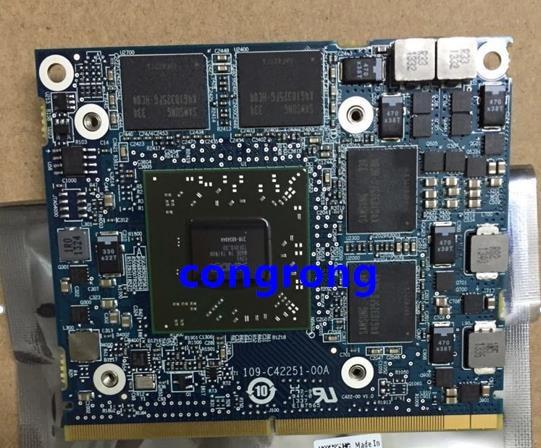 For Dell Precision M4600 M4700 M4800 Mobile Workstation For AMD ATI FirePro M4000 GDDR5 1GB VGA Graphics Video Card Drive Case