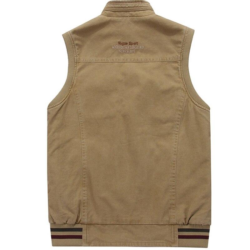 Image 4 - Men Military CLothing Waistcoat Army Tactical Many Pockets Vest  Sleeveless Jacket Plus Size 6XL 7XL 8XL 9XL big Male Travel Coatpocket  vestsleeveless jacketvest vest