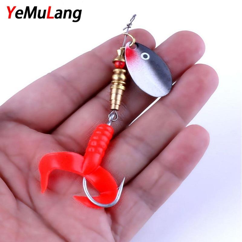 YeMuLang 1ks Spinner Baits Umělé rybářské návnady Pesca 6,8 g - Rybaření
