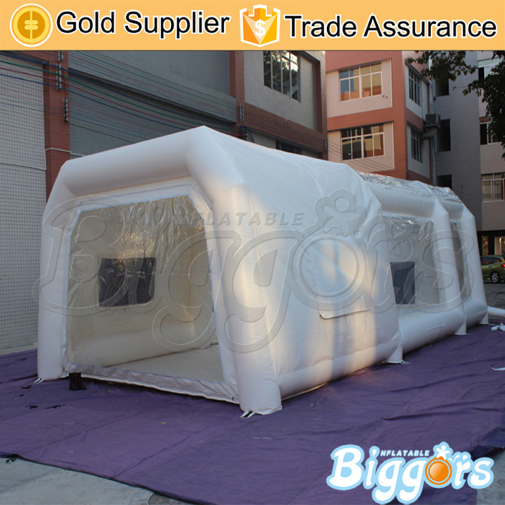Free shipping play house clear inflatable pvc car tent inflatable for outdoor