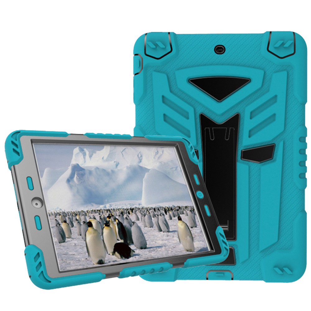 For Apple iPad 2 Case Silicone and PC Shockproof Heavy Duty Armor Cover for iPad 3 / 4 9.7inch Tablet Case Hard Cover with Stand 2017 fashion kids silicone tablet case for apple ipad 2 3 4 armor shockproof waterproof heavy duty hard cover shell stylus film