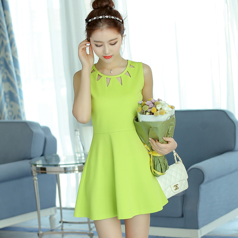 399d93452631e Spring and summer 2018 new Korean women's dress with large size sexy ...