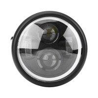 16cm 6 5 Motorcycle LED Headlight HeadLamp Bulb For Harley Sportster Cafe Racer Bobber