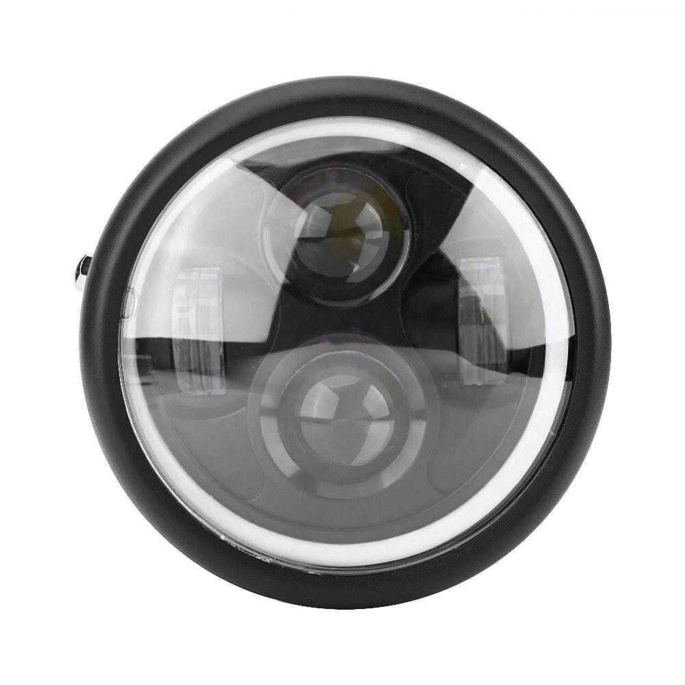 16cm/6.5 Motorcycle LED Headlight HeadLamp Bulb for Harley Sportster Cafe Racer Bobber