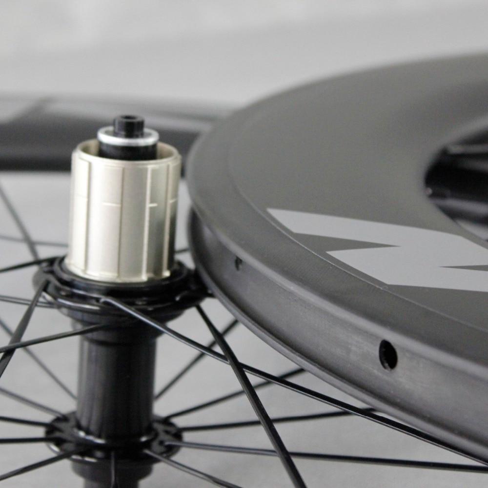 ICAN Carbon Road TT Velosiped Təkər 86mm clincher tükənməmiş - Velosiped sürün - Fotoqrafiya 4