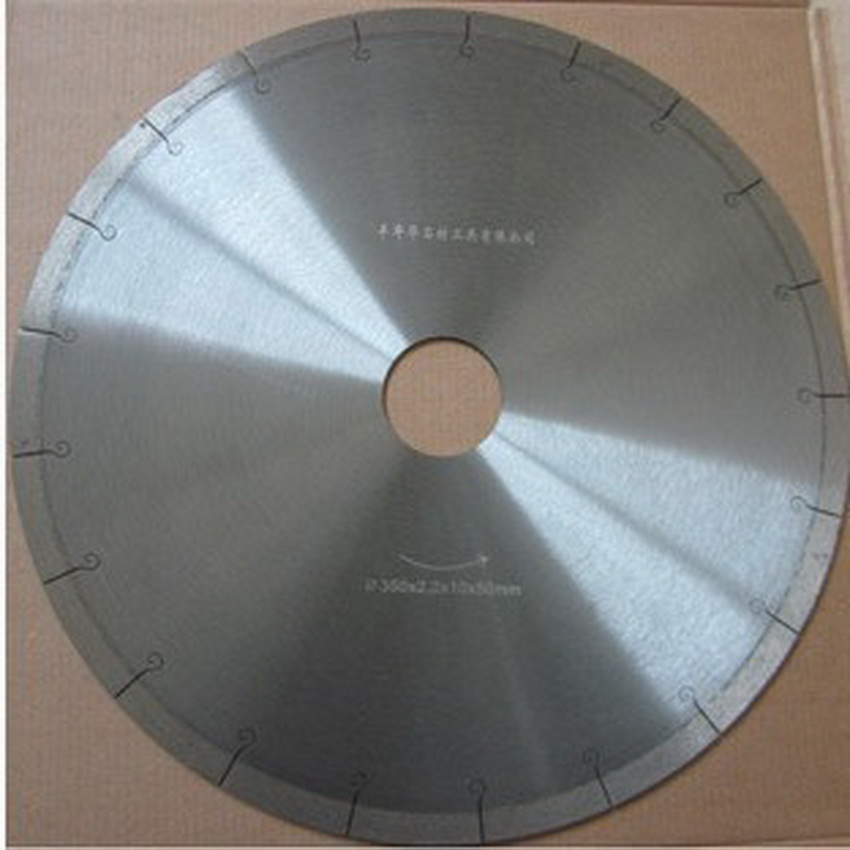 Promotion sale of high quality 350*50*12mm diamond saw blade for Marble/artificial stone/quartz stone/tiles/vitrified tiles cut-in Saw Blades from Tools    1