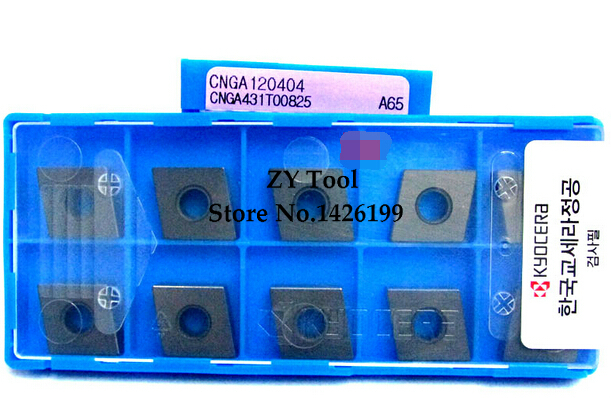 CNGA120404 A65 KYOCERA carbide tip Lathe Insert the lather boring bar CNC tool machine Factory outlets